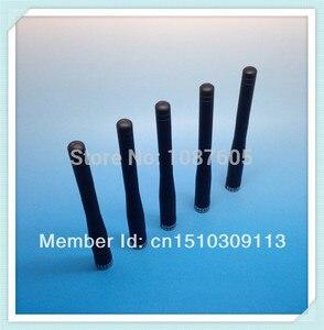 Image 4 - 5 unids/lote SW433 ZT100 antena de varilla recta de goma de largo alcance 433MHz 100mm 3dBi SMA