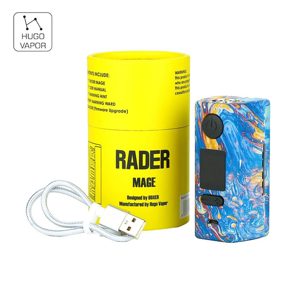 2018 New Original 218 w Hugo Vapeur Rader Mage TC Boîte MOD avec Nylon Fibre Cadre & 0.96-pouces OLED Affichage AUCUN 18650 Batterie Mod