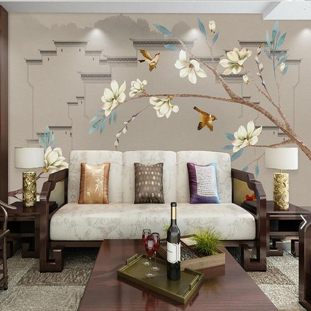 Wunderbar 3d Blume Tapete Foto Wandbild Floral Tapeten Für Wohnzimmer Roomhome Wand  Dekor Malerei Gedruckt Wand Papiere