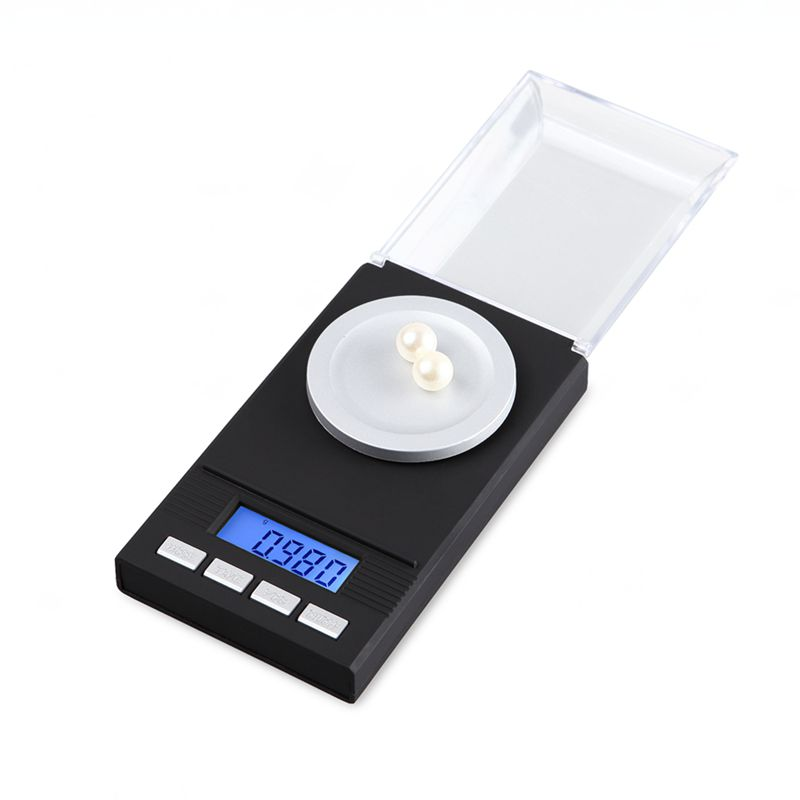 0.001g 20g Digital Milligram Gram Scale Balance Weight Diamond Jewelry Tool Gold Coin Pocket Scales With Retail Box FreeShipping