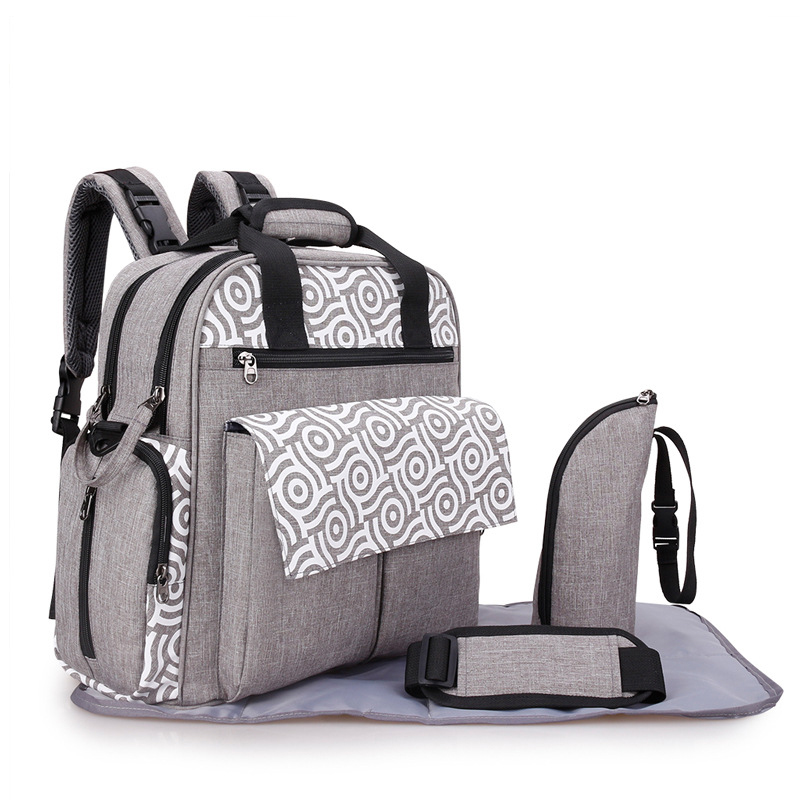 Diaper Bag For Mommy Maternal Nappy Backpack Shoulder Mother Stroller Baby Infant Care Organizer Nursing Changing Bags Luiertas