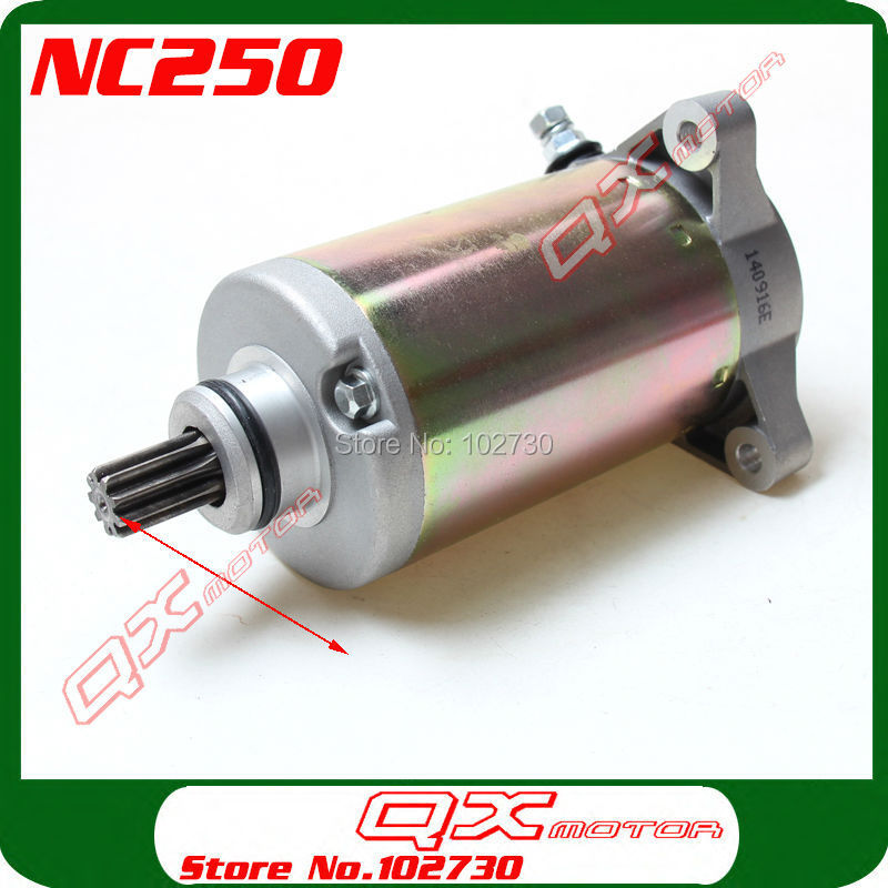 Zongshen 4 soupapes NC250 refroidi à l'eau 250cc moteur démarreur électrique moteur ZS177mm pièces de moteur livraison gratuite