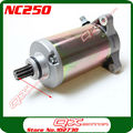 Zongshen 4 valve NC250 Water Cooled 250cc Engine Electric Starter Motor ZS177mm Engine parts free shipping