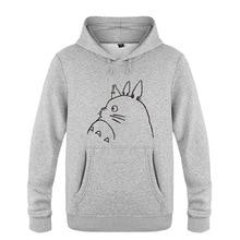 Miyazaki Hayao Totoro Hoodie Anime Fashion Cotton 6 Colors Sweatershirt Hoody Pullover With Hood For Men Women