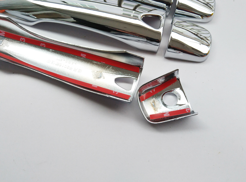 Free Shipping For Nissan QASHQAI 2015 ABS chrome Door Handle Cover Door Handle straps car accessories (13)