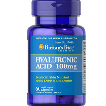 American Hyaluronic Acid 100 mg 60 Capsules Free shipping