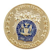 custom star logo round coin cheap gold coins hot sales made 3D with enamel color