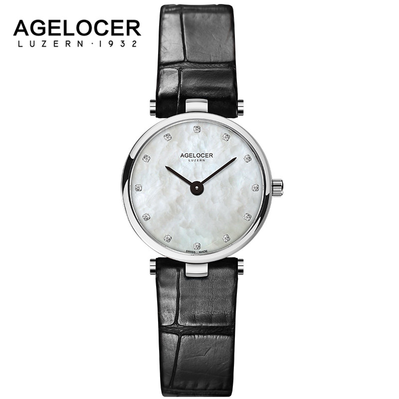 AGELOCER 2017 Top Brand Luxury Waterproof Watches Women Dress Quartz Clock Ladies Fashion Casual Wrist Watch for Women Girls edge finder in order to accurately determine the location of the center of a detection tool workpiece touch point sensor for cnc