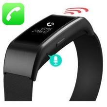 Новый Smart Band A96 смарт-браслет Smart Bluetooth Обсуждение браслет Вызов по громкой связи шагомер Фитнес трекер PK Сяо Mi mi Группа 2