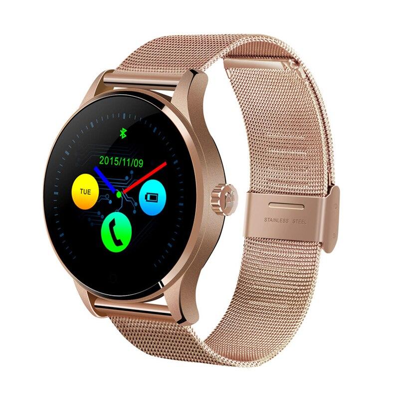 K88H Classico Astuto Della Vigilanza per le Donne Degli Uomini Monitor di Frequenza Cardiaca di Sport Attività Fitness Tracker Smartwatch per Android Iphone Xiaomi
