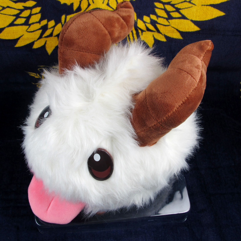 Cute Game League of Legends PUAL LOL Limited Poro Plush Stuffed Toy  1
