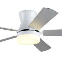Newest Wood Leaf Ceiling Fan Lamp Minimalist Fashion Modern Living Room Dinning Suspension Light 220V