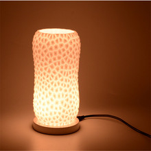 Night Light Bedroom USB Charging 3D Led Lamp  White/Warm/warm white Waterproof For Decoration