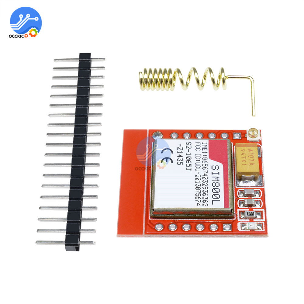 SIM800L GPRS GSM Module Micro SIM Card Core Wireless WIFI Board TTL Serial Port With Antenna For Arduino PCB DIY Kit Game
