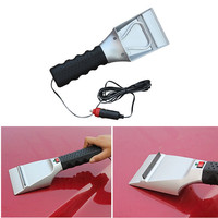 New 12V Hight Quality Car Snow Scraper Electric Heated Ice Scraper Melter Shovel Ice Scoop Use
