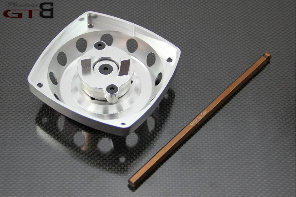 GTBRacing Alloy Roto/Electric starting  For 1/5 HPI Baja  5B  5T 5SC two speed gear cover for 1 5 hpi baja 5b 5t 5sc