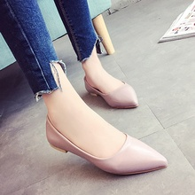 Mode Femmes Chaussures Femme Appartements Casual Confortable Bout Pointu Femmes Chaussures Plates Slip-On Mocassins Zapatos Mujer