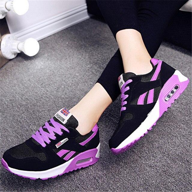 034214a43a8 2017 nuevos zapatos deportivos transpirables deportivos para mujer,  zapatillas de viaje ligeras para mujer,
