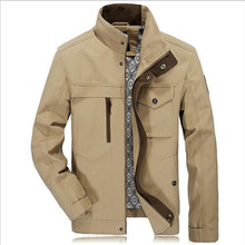 Farha&Janny Plus 4XL size Loose cotton Spring mens Casual Coats warm Military Jackets