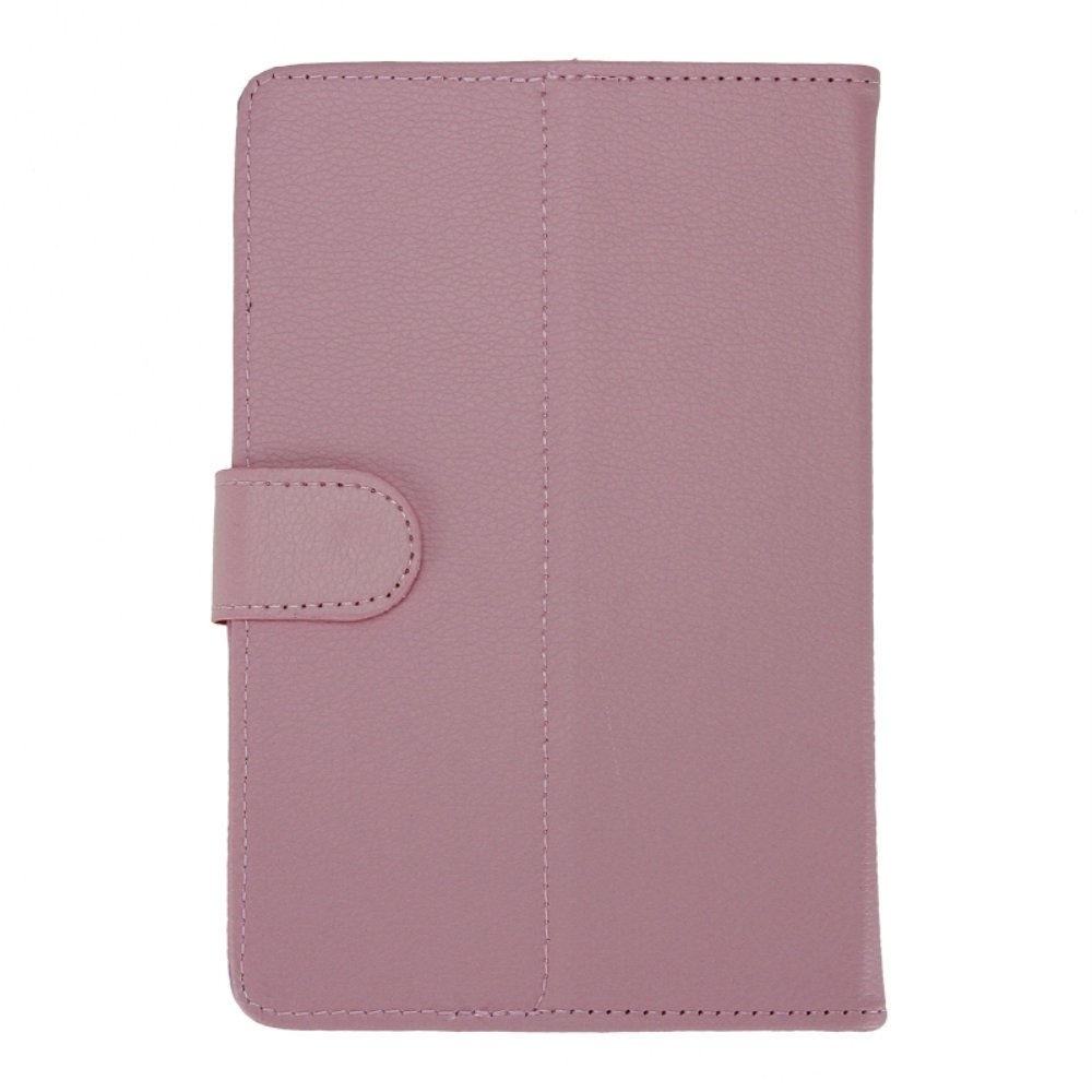 CAA Hot Leather Folder Pouch Cover Skin Case Shell For 10 inch Tablet PC(Pink 10 inch)
