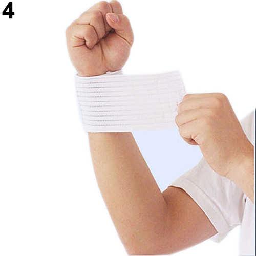 を Joylife 1 pc 弾性手首足首肘膝ブレースジムスポーツ包帯ガードサポート