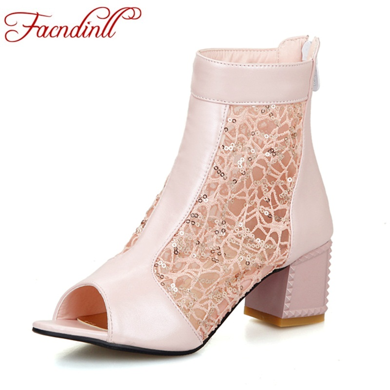 FACNDINLL women sandals shoes ankle boots new fashion high heels peep toe blue pink black shoes woman summer short boots shoes western femme clear heel transparent boots plastic women ankle booties peep toe high heels shoes summer short boots new fashion