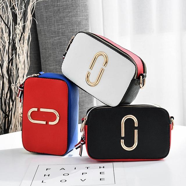 HOT SALE! Women Bag 2019 Small Square Bag High Quality Design Women's Handbags Large Capacity Messenger Bag Color Shoulder Strap