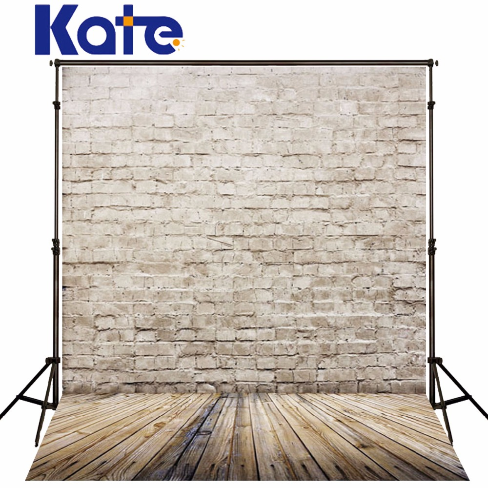 Photography Backdrops 200*150Cm(6.5*5Ft) Light-Colored Brick Wood Wall Background Vintage Photography Backdrops аудиоинтерфейс behringer line2usb