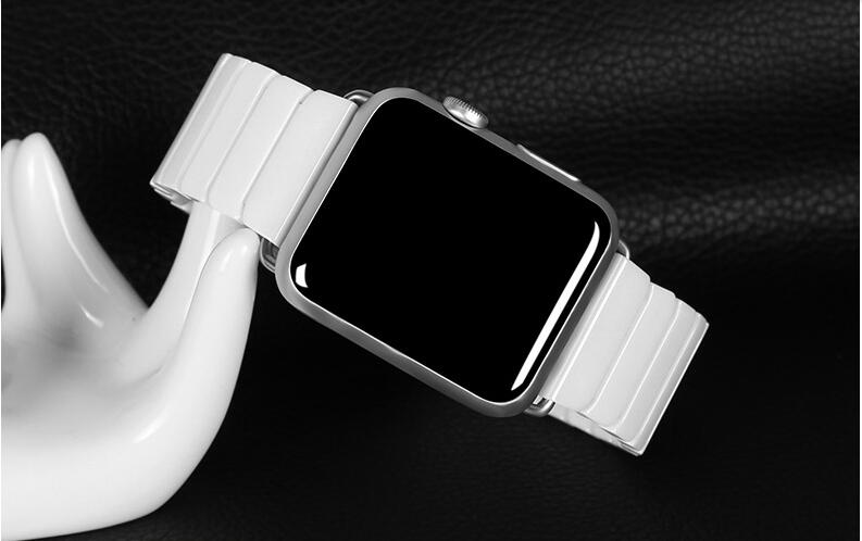 2016 High Quality Ceramic Watchband Original Link Bracelet Strap Connector Adapter For Apple Watch Iwatch 38mm