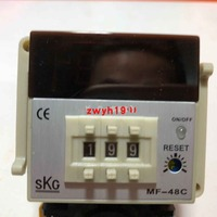 다이얼 디지털 디스플레이 온도 컨트롤러 skg MF-48C 소켓 온도 컨트롤러 대만 skg에 사용