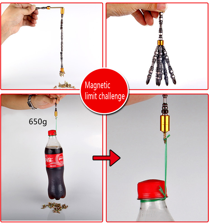 Wysokiej jakości 2 szt. 65/110 mm Elektryczne wkrętaki magnetyczne - Narzędzia ręczne - Zdjęcie 4