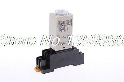 цена на 10 set base + time timer relay 8pin H3Y-2 H3Y AC110V 5A 1min-30min 30min
