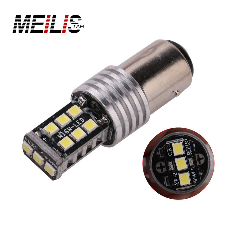 1PCS High Quality 1156 BA15S P21W 15 SMD 2835 Canbus LED Car Auto Indicator Turn Side Light Parking Bulb Lamp DC 12V брюки спортивные puma puma pu053emcjkq6