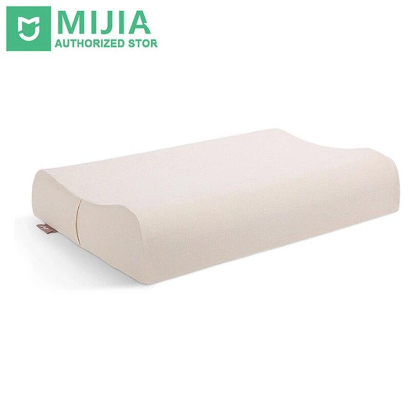 Оригинальный Xiaomi Подушка 8 H природных Z2 здравоохранения хороший сон латекс с наволочкой лучших экологически безопасный Материал подушка