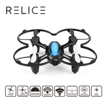 QD-702W RC Drone Christmas Remote Control Quadcopter With VR Eyes Glasses Altitude Hold Mode Helicopter 0.3MP HD WiFi Camera
