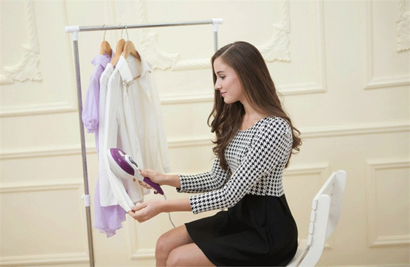 SJ 10 Free Shipping steam brush handheld ironing machine portable dry cleaning brush household electric iron