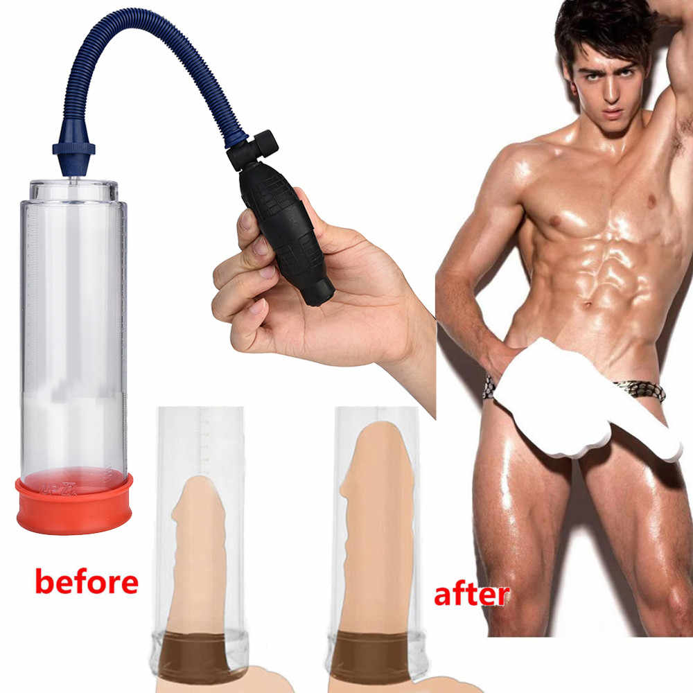 Use Poweful Sex Men's Booster for Men Prevent Premature Ejaculation Male Prolong Sexual Love Penis Device Sucking Machine