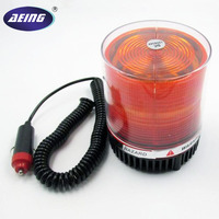 Free Shipping 12V Auto Emergency Police Warning Light Amber LED 4 5 Strobe Safety Flasher Warning