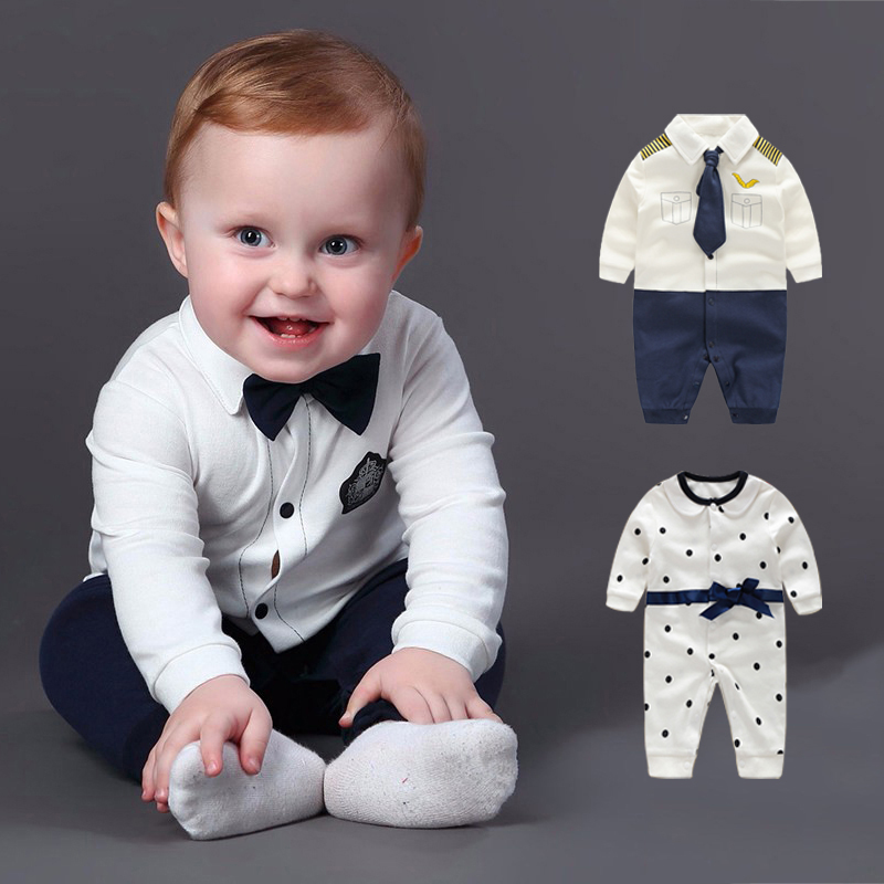 2017 Baby Rompers Autumn Newborn Baby Clothes Cotton Baby Boy Clothing Sets Spring Baby Boy Clothing Roupa Bebe Infant Jumpsuits free shipping 2016 cotton children s clothing brand baby clothes sets newborn baby boy clothing spring