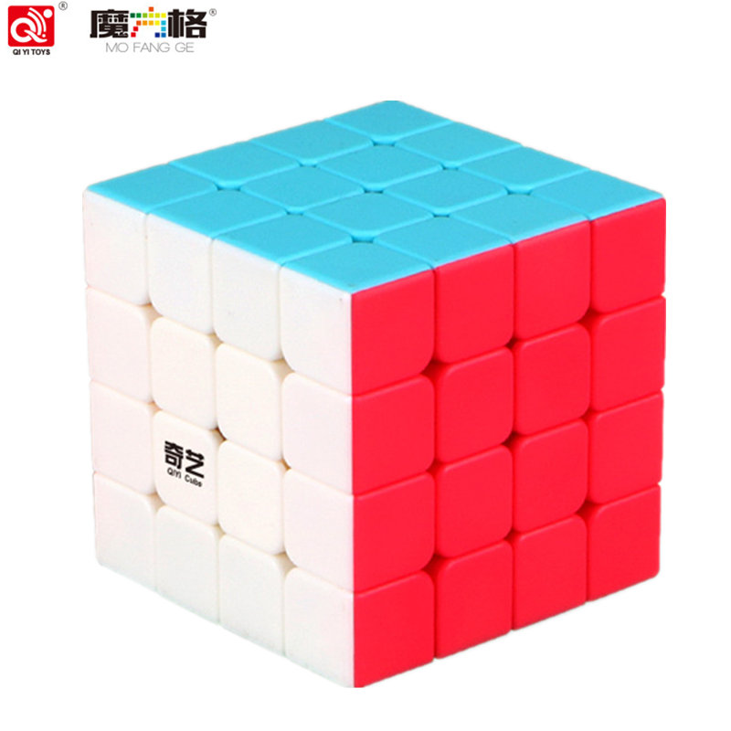 QIYI Cube 4 by 4 magic cube size62 62 62mm 6 colors Puzzle Speed Cube for