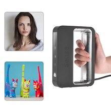 3D системы Sense 2 ручной 3D сканер Высокая точность USB подключение для дизайна исследования ремесел обработки 3D сканер