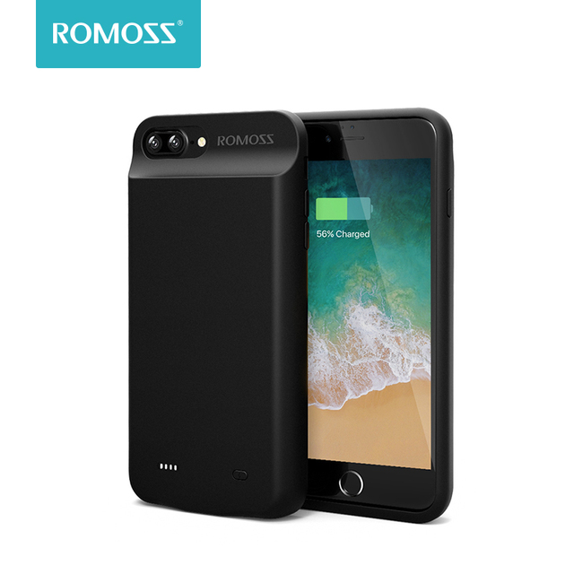 various colors c5b39 ac69e US $19.95 38% OFF|Romoss 8000mAh Battery Case For iPhone 6/7 Plus Power  Bank Charging Case For iPhone 6/7 Plus Battery Charger Case Cover-in  Battery ...