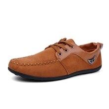 La más nueva Manera de Doug Zapatos de Los Hombres Zapatos Casuales de Primavera Otoño Transpirable de Encaje Hasta Zapatos Del Barco Mocasines Masculinos X21 65
