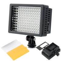 CN 160 160 LED Camera Video Light Camcorder DV Lamp 5600/3200K 9.6W for Nikon Canon Sony SLR Camera