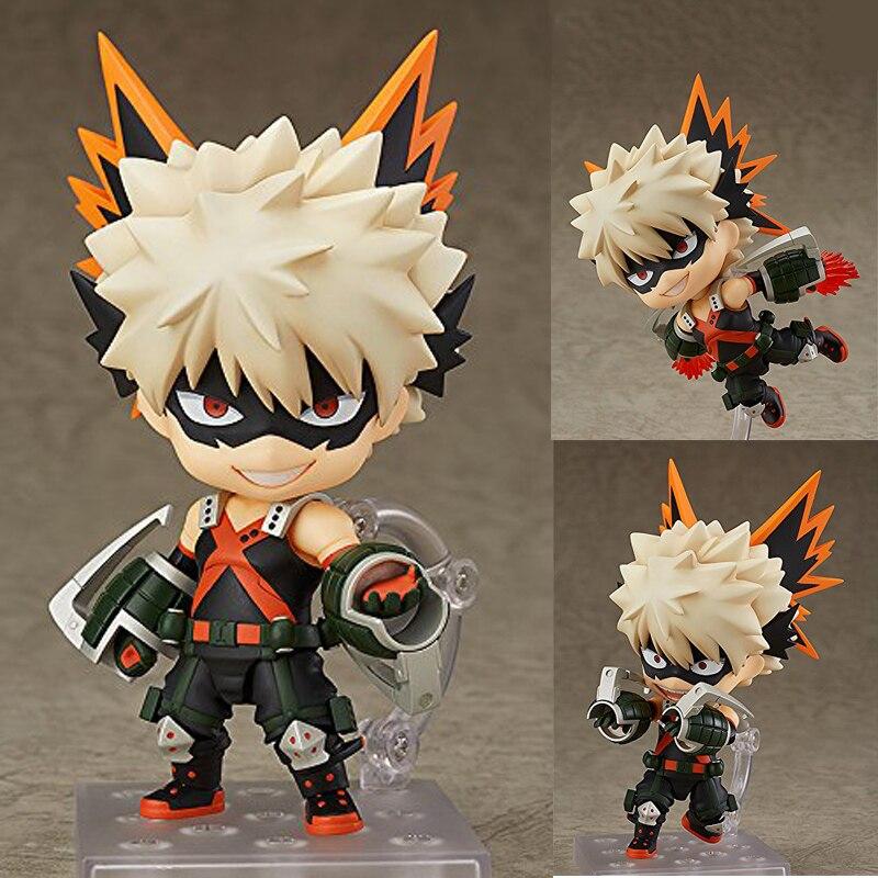 Figurine à collectionner avec figurine Katsuki Bakugo Nendoroid My Hero figurine à collectionner avec boîte Katsuki
