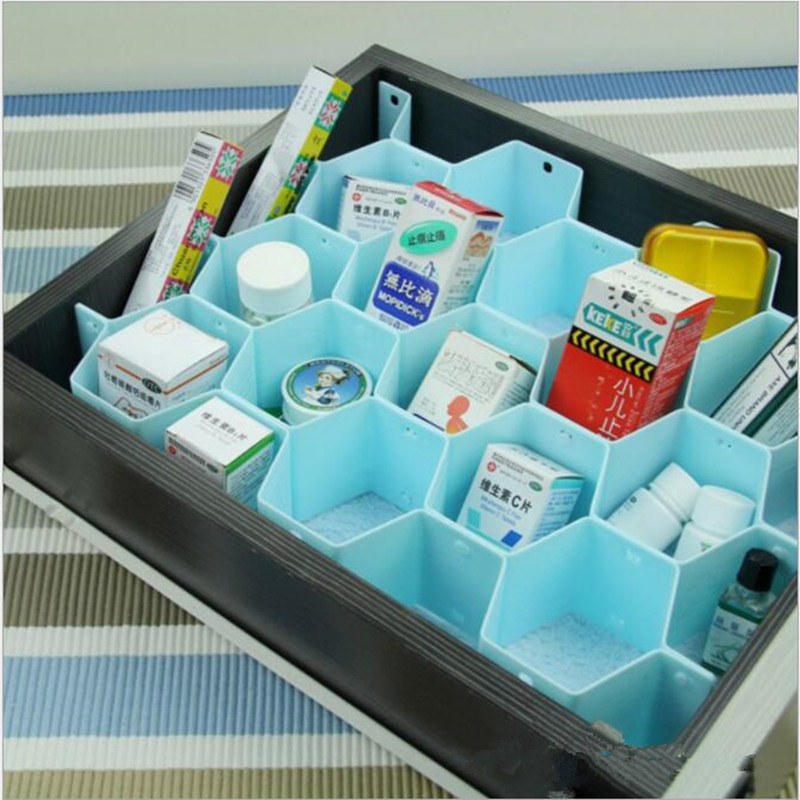 2016 ящик делитель хранения Бюстгальтер Box Макияж Организатор Шкаф галстук Нижнее Бельё для девочек Носки для девочек Home контейнер для хранения дома коробка для хранения