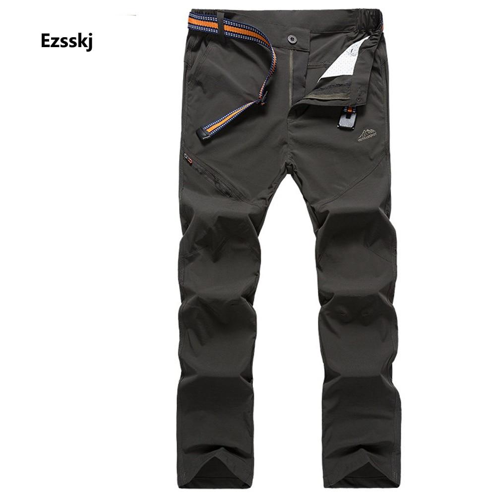 New Outdoor Mountain Lightweight Breathable font b Pants b font Men Waterproof Camping Climbing font b