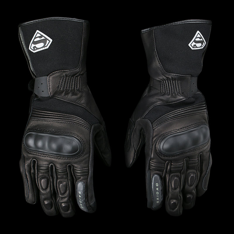 Free shipping long style motorcycle leather Waterproof Windproof  gloves     winter warm glove touch screen free shipping new arrival vintage leather tassel urban retro glove motorcycle motorbike gloves touch screen