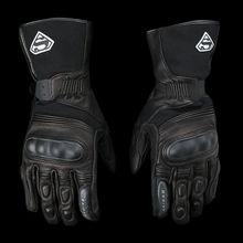 Бесплатная доставка долго стиль мотоцикл кожа Водонепроницаемый Ветрозащитные перчатки зимние теплые перчатки сенсорный экран