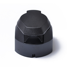 7 Pin Round European standard Trailer Socket Black frosted materials Trailer Socket 12V Towbar Towing Socket For VW For Audi(China)